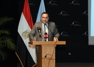 محافظ الإسكندرية: مناقشة التصميمات الخاصة بأعمال تطوير 65 ميدانا