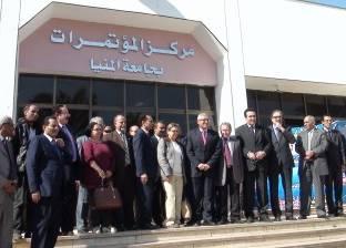 ختام الندوة الفنية الأولى بجامعة المنيا ضمن القوافل التنويرية لإثراء الحركة الثقافية