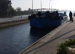 """""""النقل النهري"""" جاهزية هويس البستان 28,5 كم  لاستقبال السلع والبضائع"""