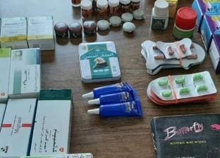 ضبط 560 قرص ترامادول وأدوية مهربة في حملة مكبرة على صيدليات دمياط