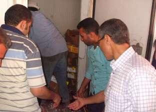ضبط أغذية وعصائر منتهية الصلاحية في حملة بمركز قويسنا