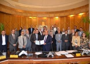 بروتوكول تدريب بين طلاب إعلام الإسكندرية ومركز التعاون الدولي