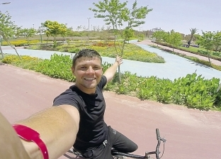محبو الدراجات يجتمعون فى أكبر حديقة بالشرق الأوسط: «كأننا فى أوروبا»