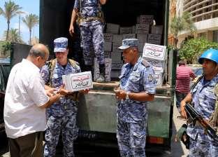 القوات المسلحة تبدأ في توزيع مليون حصة غذائية بنصف الثمن