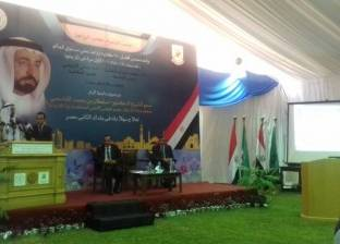 حاكم إمارة الشارقة: أنا متيم بالنادي الأهلي
