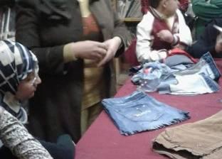 """ورشة تدريبية لإعادة استخدام الملابس القديمة بـ""""ثقافة سمالوط"""" في المنيا"""