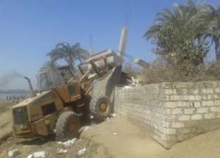 الشرطة العسكرية تزيل 15 حالة تعدٍ على نهر النيل في سوهاج