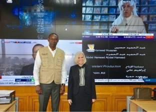 رئيسة بعثة جامعة الدول العربية للانتخابات تلتقي وفد الاتحاد الإفريقي