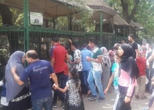 100 ألف زائر لحديقة الحيوان في ثاني أيام عيد الفطر المبارك