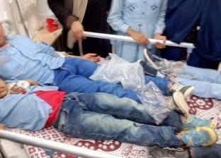 خروج التلاميذ المصابين باشتباه تسمم من مستشفى رأس غارب