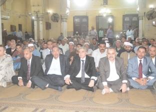 محافظ المنيا يشهد احتفال مديرية الأوقاف بالمولد النبوي
