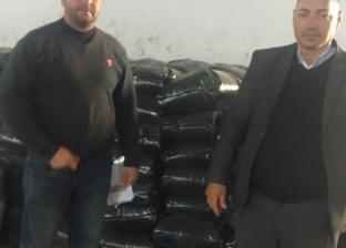 ضبط 1400 كيلو جرام مكرونة بعلامات مزيفة داخل مصنع في البحيرة