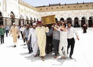 جنازة أكبر معمر أزهري بالقاهرة
