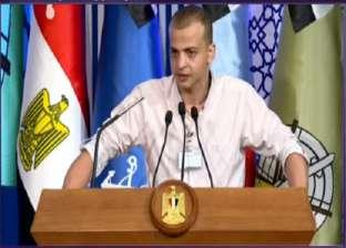 """""""شكرني فقلت ده واجبي"""".. الجندي أحمد فوزي يحكي ما دار بينه وبين السيسي"""