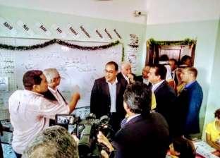 رئيس الوزراء يتفقد فرع جامعة الملك سلمان بمدينة شرم الشيخ