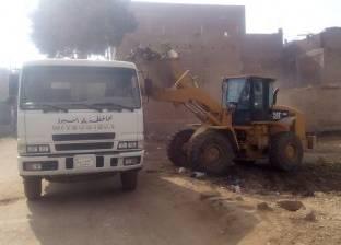 """رئيس حي الهرم: رفع 1500 متر مكعب """"مخلفات هدم"""" من على ترعة المريوطية"""