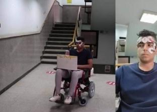 توجيه الكرسي المتحرك بحركة العين.. مشروع تخرج طلبة بحاسبات عين شمس