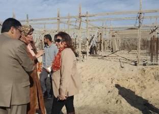 البرلمانية إيفلين متى تتفقد أرض مدرسة الشيخ ضرغام بدمياط لحل مشكلتها