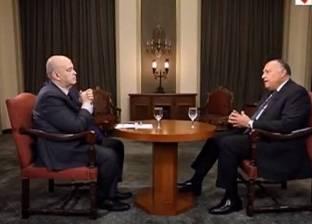 فيديو  شكري: السياسة الخارجية تُرسم من رؤية الرئيس والأجهزة السيادية