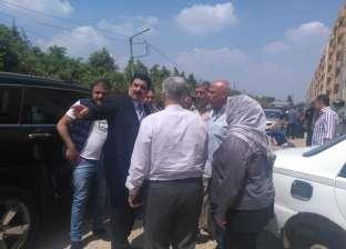 """مواطنون يقتحمون شقق """"إسكان قها الجديدة"""" احتجاجا على تأخر التسليم"""