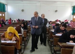 ضبط 16 حالة غش بـ7 كليات في جامعة المنيا