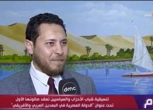 أمين شباب حزب التجمع: لدينا رؤية لظاهرة تغير المناخ والقضاء على التصحر