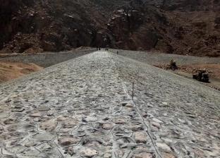 انتهاء أعمال الحماية من مخاطر السيول في جنوب سيناء