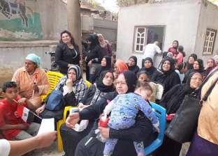 """""""قومي المرأة"""" يواصل فعاليات """"صوتك أمانة"""" في القاهرة"""