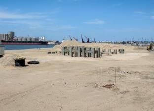 إنشاء محطة أغراض متعددة بميناء دمياط بالتعاون مع الهيئة الهندسية