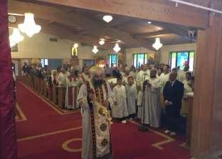 الأنبا كاراس يشرف على انتخابات مجلس كنيسة العذراء بمينيسوتا في أمريكا