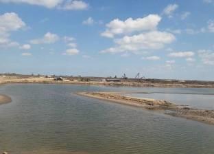بدء تمهيد الطرق حول المزارع السمكية بشرق بورسعيد وتوريد طلمبات المياه