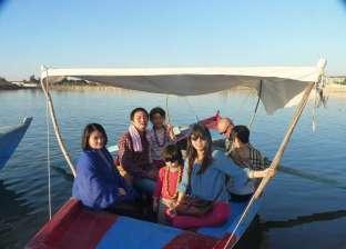 بالصور| وفد صيني يزور المعالم السياحية والأثرية في الفيوم