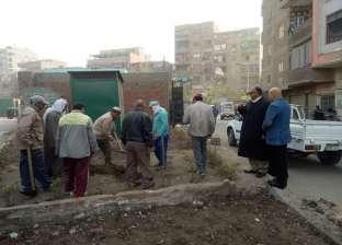 نور الدين: تبليط شوارع إمبابة القديمة ودهان العقارات بالجهود الذاتية