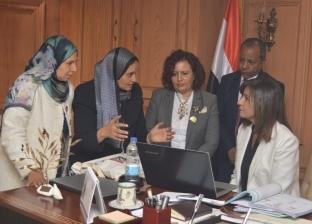 """وزيرة الهجرة تبحث إطلاق مبادرة """"اتكلم مصري"""" مع """"الطفولة والأمومة"""""""