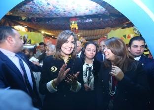 بالصور| وزيرتا الهجرة والتضامن تفتتحان معرض ديارنا لدعم الحرف اليدوية