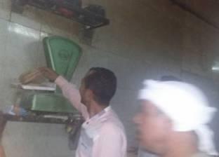 حملة تموينة تحرر محاضر ضد أصحاب المخابز في مطوبس