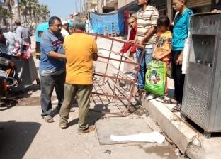 رفع 500 حالة إشغال خلال أسبوع في الدلنجات وشبراخيت