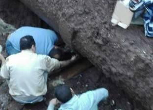 عودة المياه لمدينة ابوتيج بعد انقطاعها 24 ساعة لكسر خط الصرف الصحي