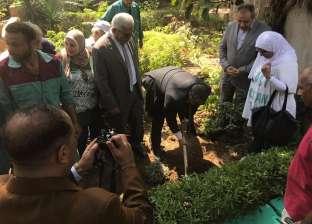 نقيب الزراعيين: زراعة 1000 شجرة مثمرة بحي روض الفرج