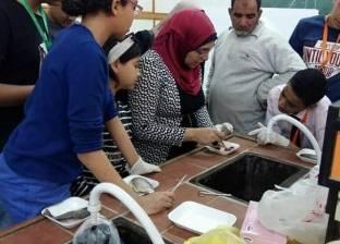 """""""الاستزراع السمكي"""" في ختام فعاليات برنامج جامعة الطفل بجامعة القناة"""