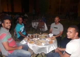 """سكان """"أسوان الجديدة"""" ينظمون أول إفطار رمضاني"""