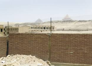 شرطة الآثار تتوصل لكشف أثري هام بمنطقة أهرامات الجيزة