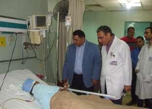 """وكيل """"صحة الشرقية"""" يتفقد مستشفى الأحرار لتقييم الخدمة المقدمة للمرضى"""