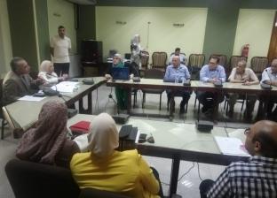 نائب رئيس جامعة المنصورة يلتقي أصحاب المشروعات الممولة من صندوق البحوث