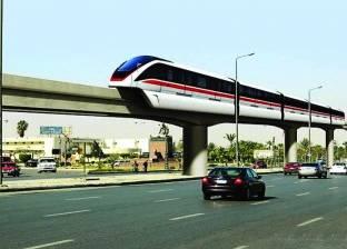 """بدء تنفيذ قطار """"السلام - العاصمة الإدارية"""" الكهربائي"""