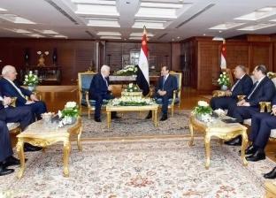 السيسي وعباس يبحثان ملف المصالحة الفلسطينية