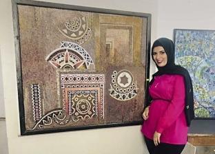 «ميرنا» تدعم «تنمية سيناء» بجدارية من الحجر الرملى والرخام