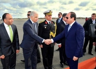 """""""السيسي"""" يصل إلى القاهرة قادما من إيطاليا بعد المشاركة في قمة ليبيا"""