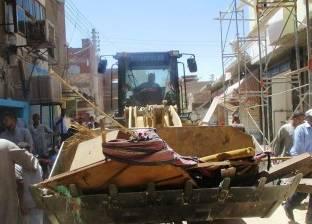 إزالة 81 حالة اشغال طريق في حملة مرافق بالإسكندرية