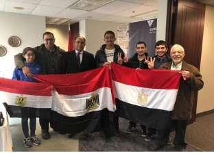 حضور مميز للمصريين في ثاني أيام الاستفتاء بكندا